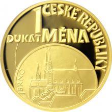 Dukát ČR 2018 Mena Proof