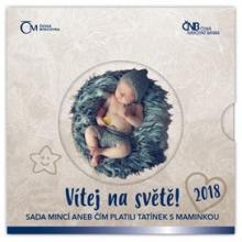 Sada oběžných mincí Narození dítěte 2018 Standard