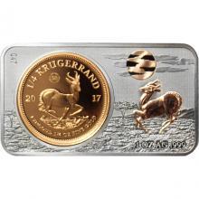 Zlatá mince Krugerrand 50. výročí Exkluzivní edice 2017 Proof