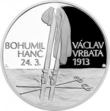 Stříbrná medaile Příběhy naší historie - Hanč a Vrbata 2018 Proof