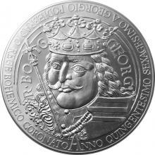 Stříbrná kilogramová mince Jiří z Poděbrad 2018 Standard