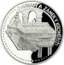 Platinová uncová minca UNESCO - Záhrady a zámok v Kroměříži 2018 Proof