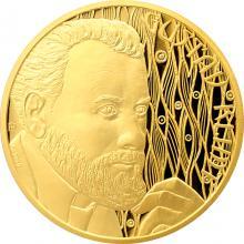 Zlatá půluncová minca Gustav Klimt 2018 Proof