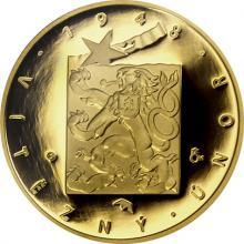Zlatá mince Převratné osmičky našich dějin - 1948 Vítězný únor 2018 Proof
