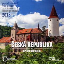 Sada oběžných mincí Česká republika 2018 Standard