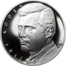 Stříbrná medaile Hvězdy stříbrného plátna - Jiří Kodet 2018 Proof
