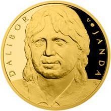 Zlatá uncová medaile Dalibor Janda 2018 Proof