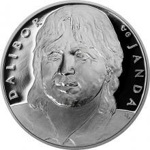 Stříbrná medaile Dalibor Janda 2018 Proof