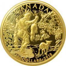 Zlatá minca Prvé národy 2018 Proof