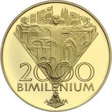 Zlatá mince Bimilénium 2000 Proof