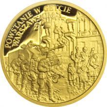 Zlatá minca Vojnový rok 1943 - Povstanie vo varšavskom gete 2018 Proof