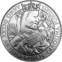 Stříbrná kilogramová mince Založení Univerzity Karlovy 2018 Standard