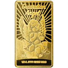 Zlatá mince Anděl strážný 2017 Proof