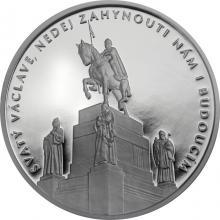Stříbrná medaile Příběhy naší historie - Svatý Václav 2018 Proof