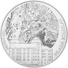 Stříbrná kilová investiční medaile Statutární město Mladá Boleslav 2018 Standard