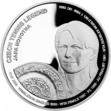 Stříbrná mince České tenisové legendy - Jana Novotná 2018 Proof