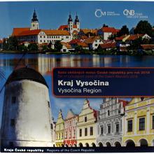 Sada obehových mincí Kraj Vysočina 2018 Štandard