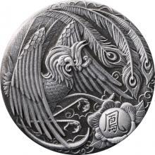 Stříbrná mince 2 Oz Fénix 2018 Antique Standard