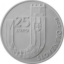 Stříbrná mince Vznik Slovenské republiky - 25. výročí 1 Oz 2018 Standard