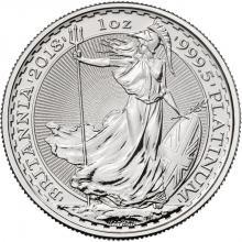 Platinová investiční mince Britannia 1 Oz