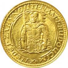 Zlatá minca Svätý Václav Dvojdukát Československý 1923
