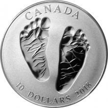 Stříbrná mince Vítej na světě 2018 Proof (.9999)