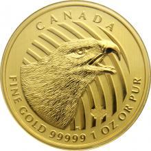 Zlatá investičná minca Golden Eagle 1 Oz 2018 (.99999)