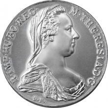 Strieborný Toliar Marie Terezie (novoražba)
