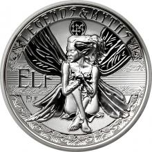 Stříbrná mince 2 Oz Elf Legends And Myths 2018 Proof