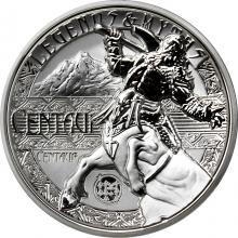 Strieborná minca 2 Oz Centaur Legends And Myths 2018 Proof