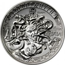 Stříbrná mince 2 Oz Medusa Legends And Myths 2018 Proof