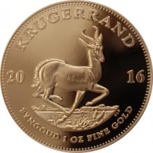 Zlatá mince Krugerrand 1 Oz 2016 Proof