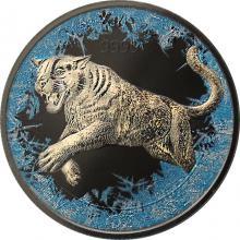 Strieborná minca Puma Predator 1 Oz Deep Frozen Edition 2016 Proof