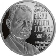 Stříbrná mince Dušan Samuel Jurkovič – 150. výročí narození 2018 Proof