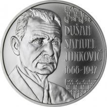 Stříbrná mince Dušan Samuel Jurkovič – 150. výročí narození 2018 Standard