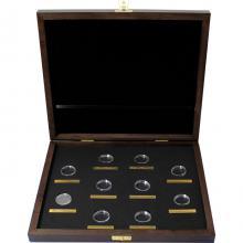 Drevená krabička pre 10 x 1/4 Oz Au mince série The Queen 's Beasts