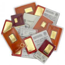 1g LONDON GOOD DELIVERY Investiční zlatý slitek