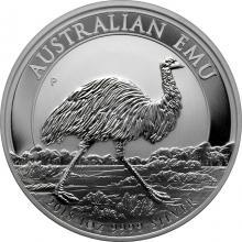 Stříbrná investiční mince Emu 1 Oz 2018