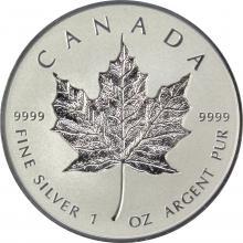 Stříbrná mince Maple Leaf 1 Oz - 30. výročí - Incuse 2018 Proof
