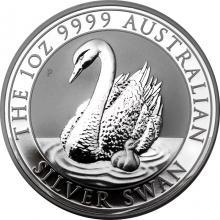 Stříbrná investiční mince Australian Swan 1 Oz 2018