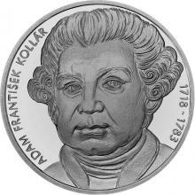 Stříbrná mince Adam František Kollár - 300. výročí narození 2018 Standard