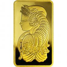 250g PAMP Fortuna Investičná zlatá tehlička