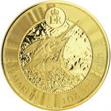 Zlatá investiční mince Marlín 1 Oz