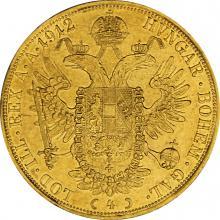 Zlatá mince 4-Dukát Františka Josefa I. 1912