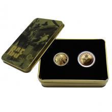 Sada dvou zlatých mincí 100 let výročí RAF 2018 Proof