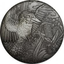 Stříbrná mince 2 Oz Ledňáček 2018 Antique Standard
