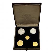 Jubilejná edícia mincí a medailí k 10. výročiu vzniku Československa 1928