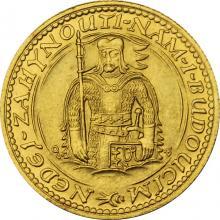 Zlatá mince Svatý Václav Jednodukát Československý 1937