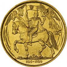 Zlatá medaile Milénium sv. Václava 929 - 1929