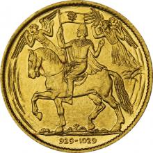 Zlatá medaila Milénium sv. Václava 929 - 1929